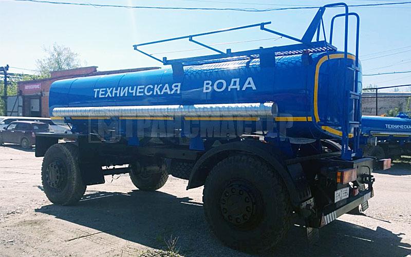 Прицеп цистерна для тех воды 4671D3 ПЦтв-10